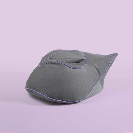 pouf barnabe the royal saintesprit gris violet zeeloft 1