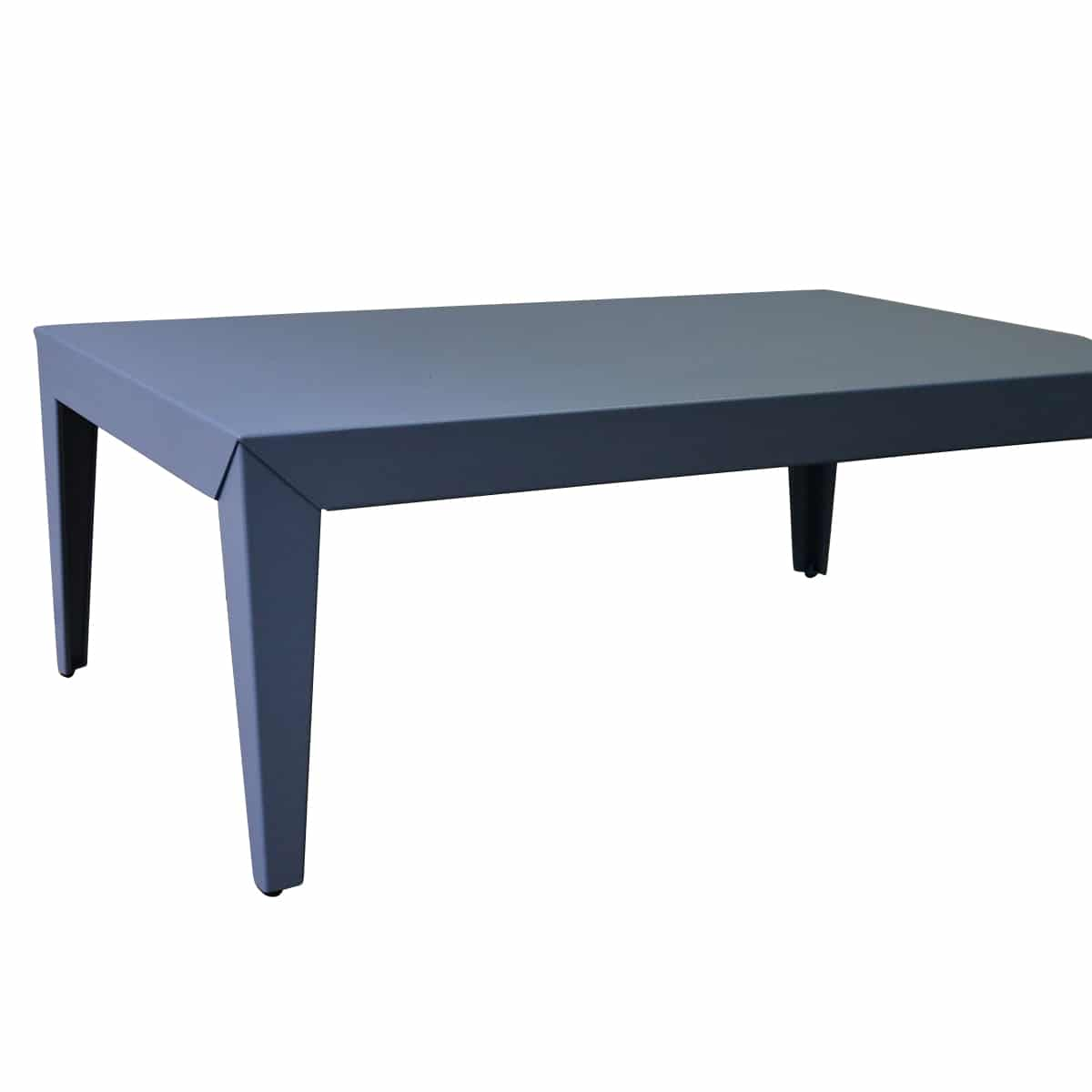 table basse zef bleu mati re grise pas cher grandes marques en promo sur zeeloft. Black Bedroom Furniture Sets. Home Design Ideas