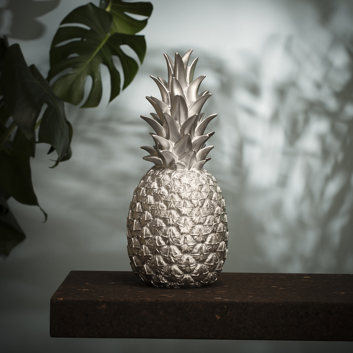 Lampe ananas argenté goodnight light zeeloft