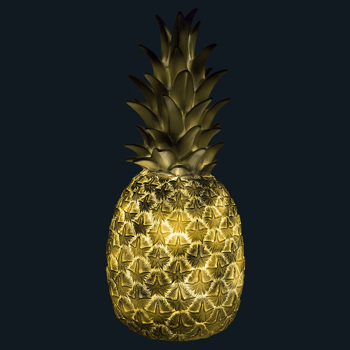 Lampe ananas argent goodnight light pas cher grandes - Lampe ananas pas cher ...