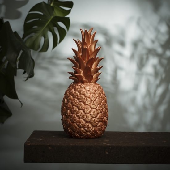 Lampe ananas cuivre goodnight light zeeloft