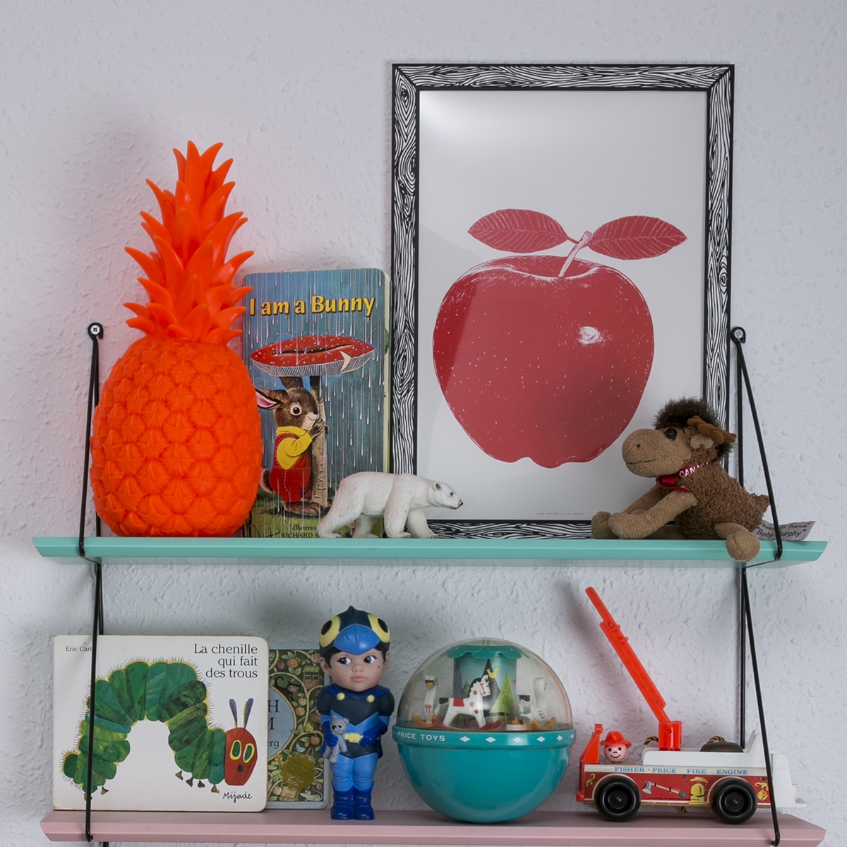 Lampe ananas rouge fluo goodnight light pas cher - Lampe ananas pas cher ...