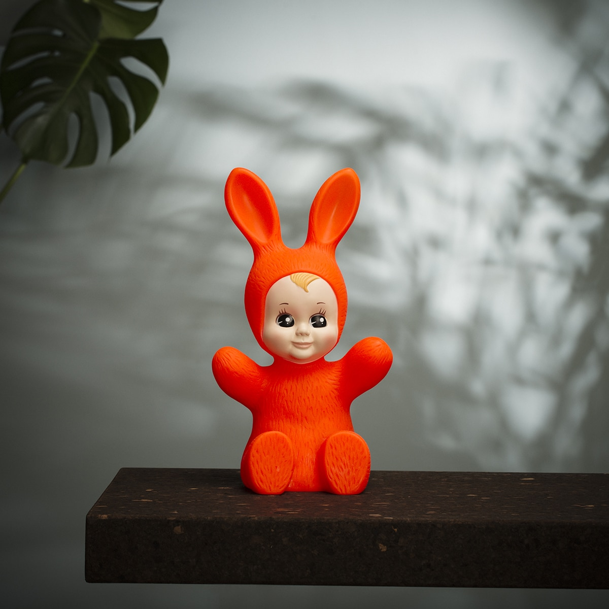 Lampe bunny baby rouge (fluo) de goodnight light zeeloft