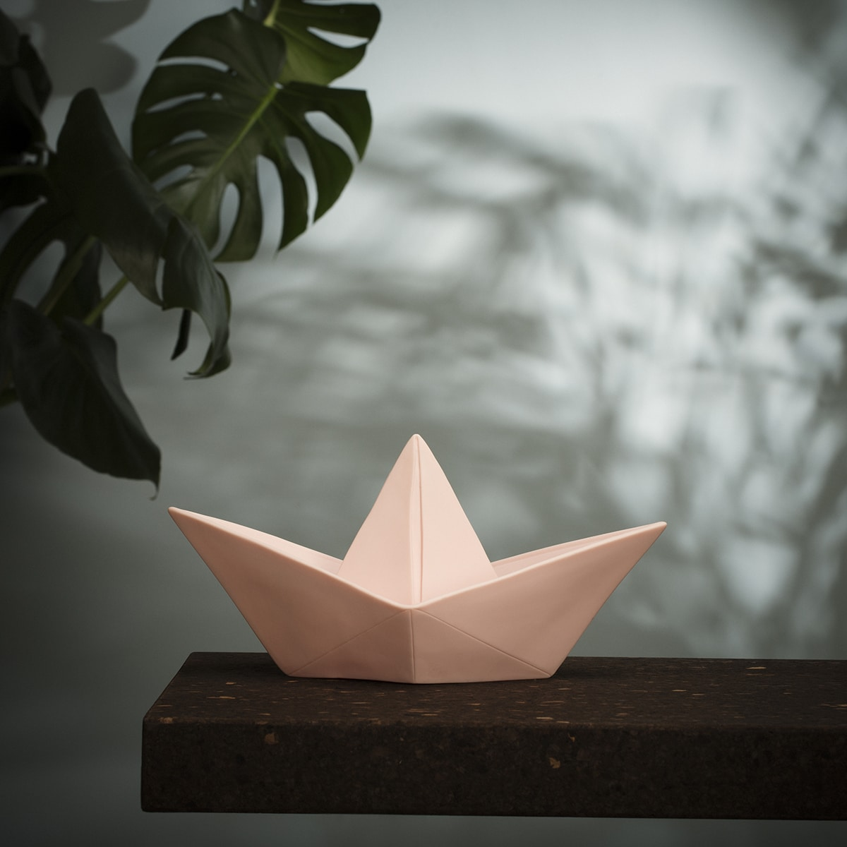 Lampe paper boat rose goodnight light zeeloft