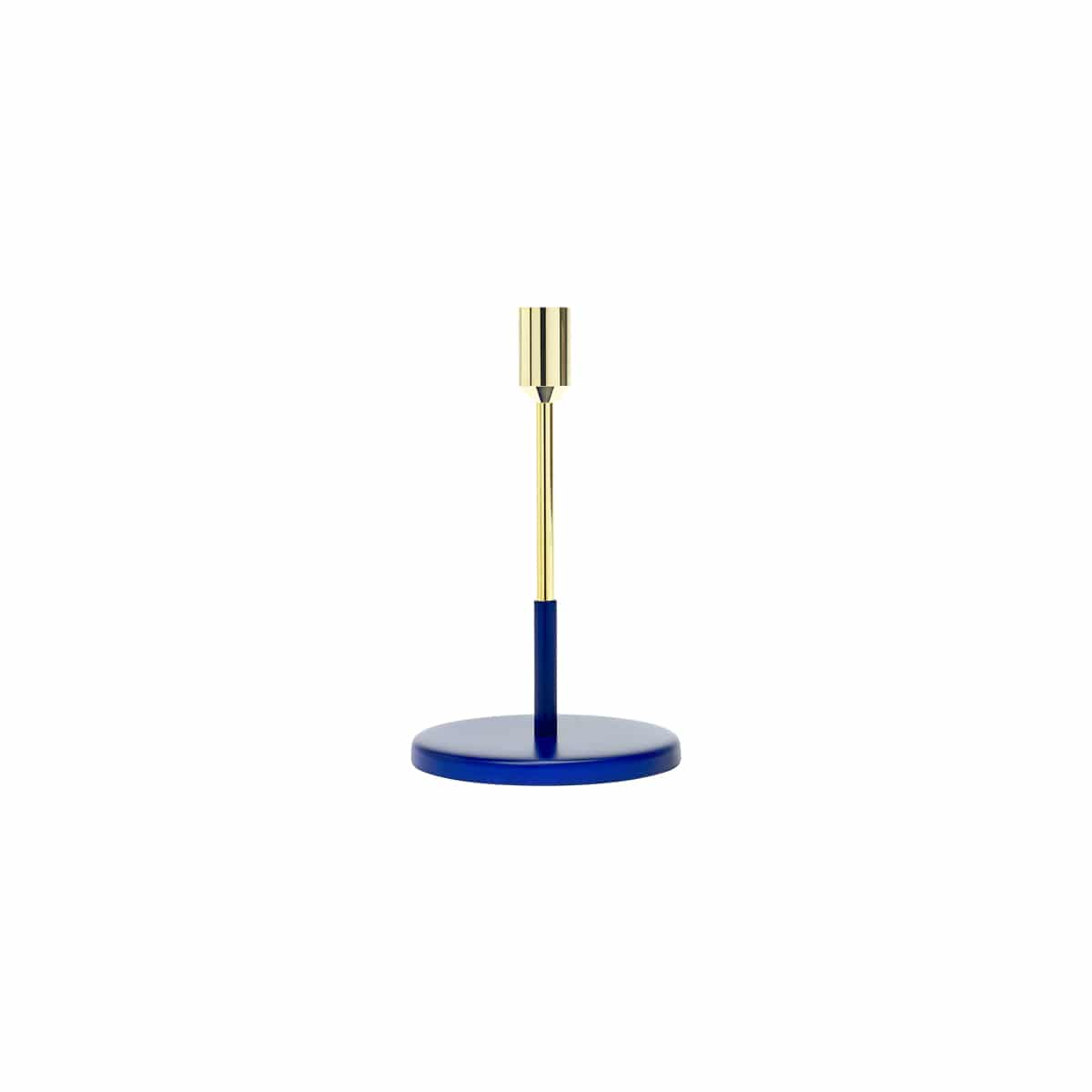 bougeoir candle holder or/bleu jansen+co zeeloft