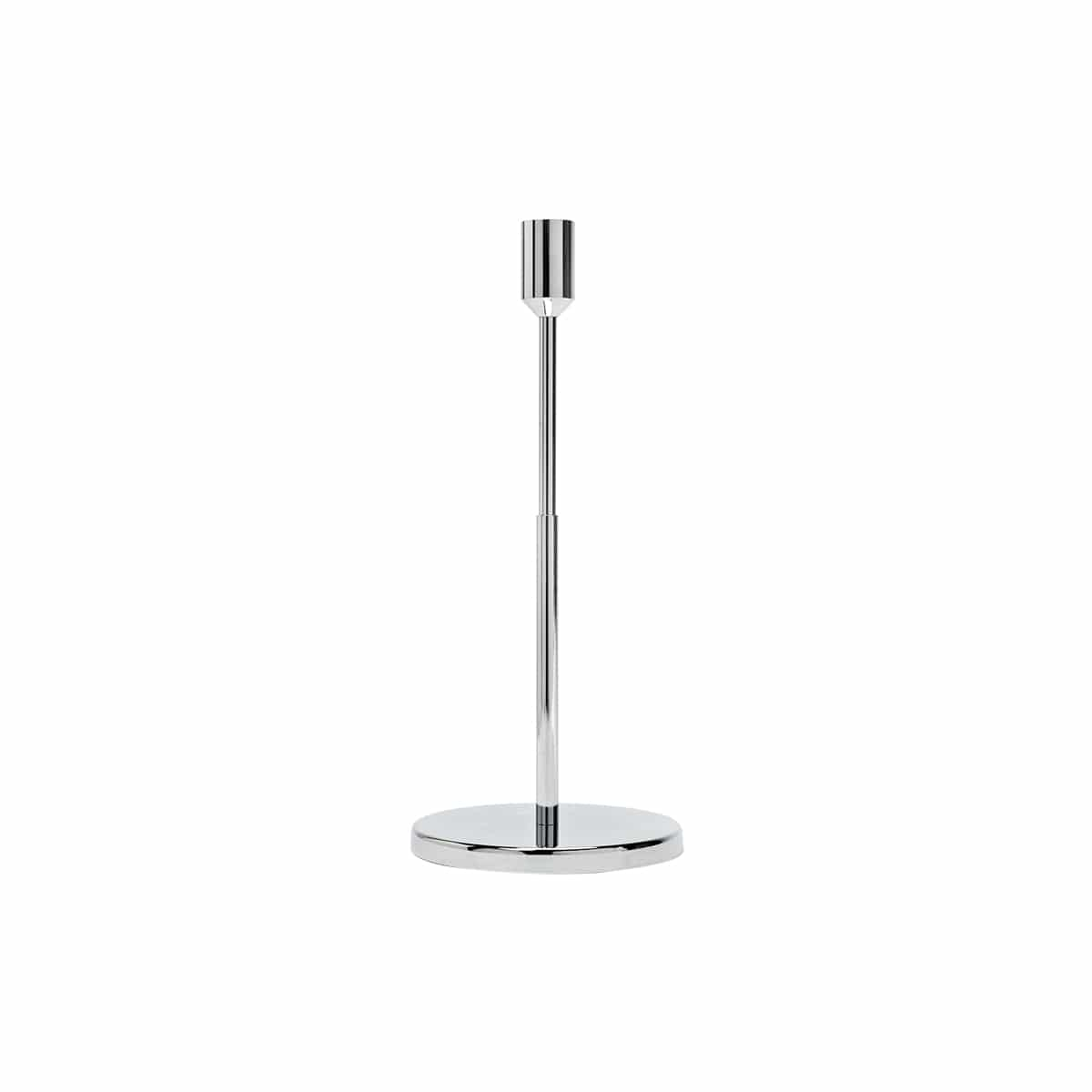 bougeoir candle holder large argent de jansen+co zeeloft