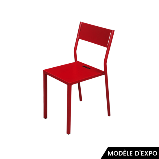 chaise take rouge matiere grise zeeloft