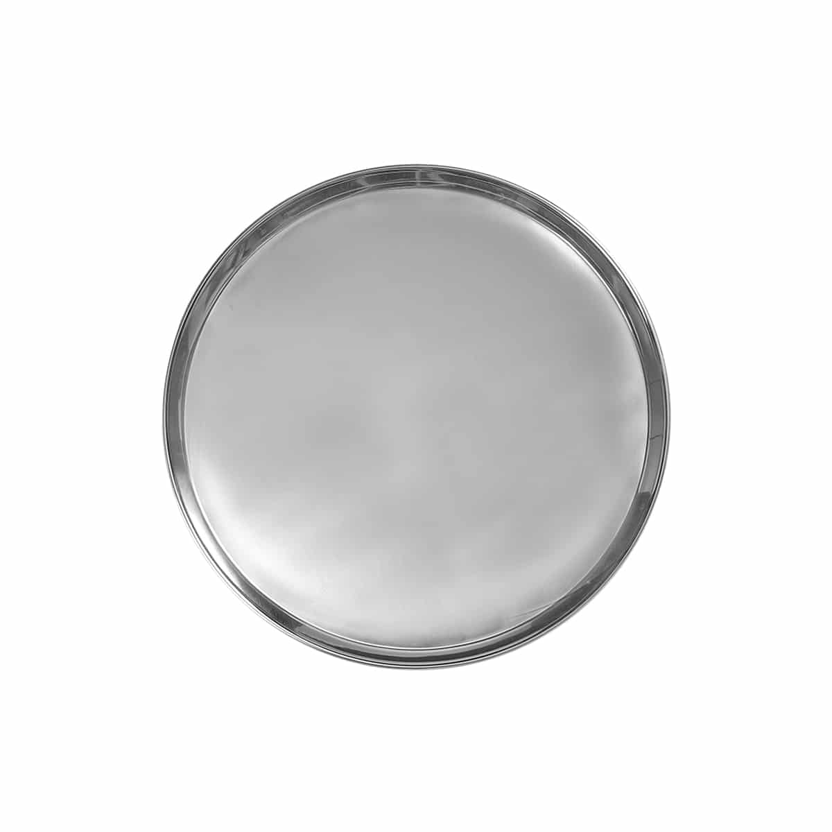 plateau tray round medium argent de jansen+co zeeloft