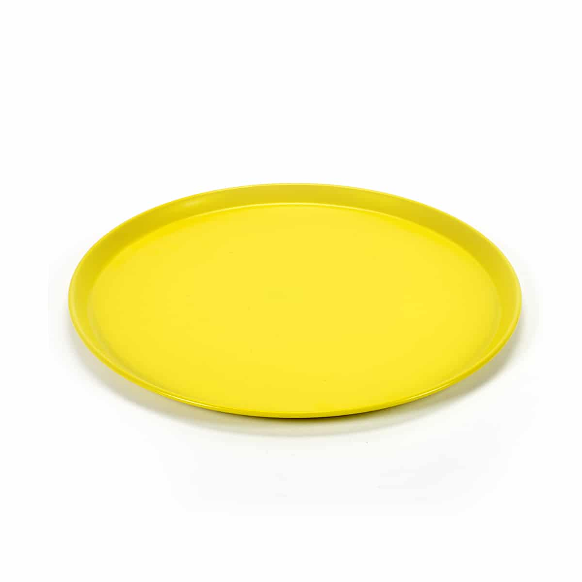 Plateau Tray round medium jaune Jansen+co zeeloft