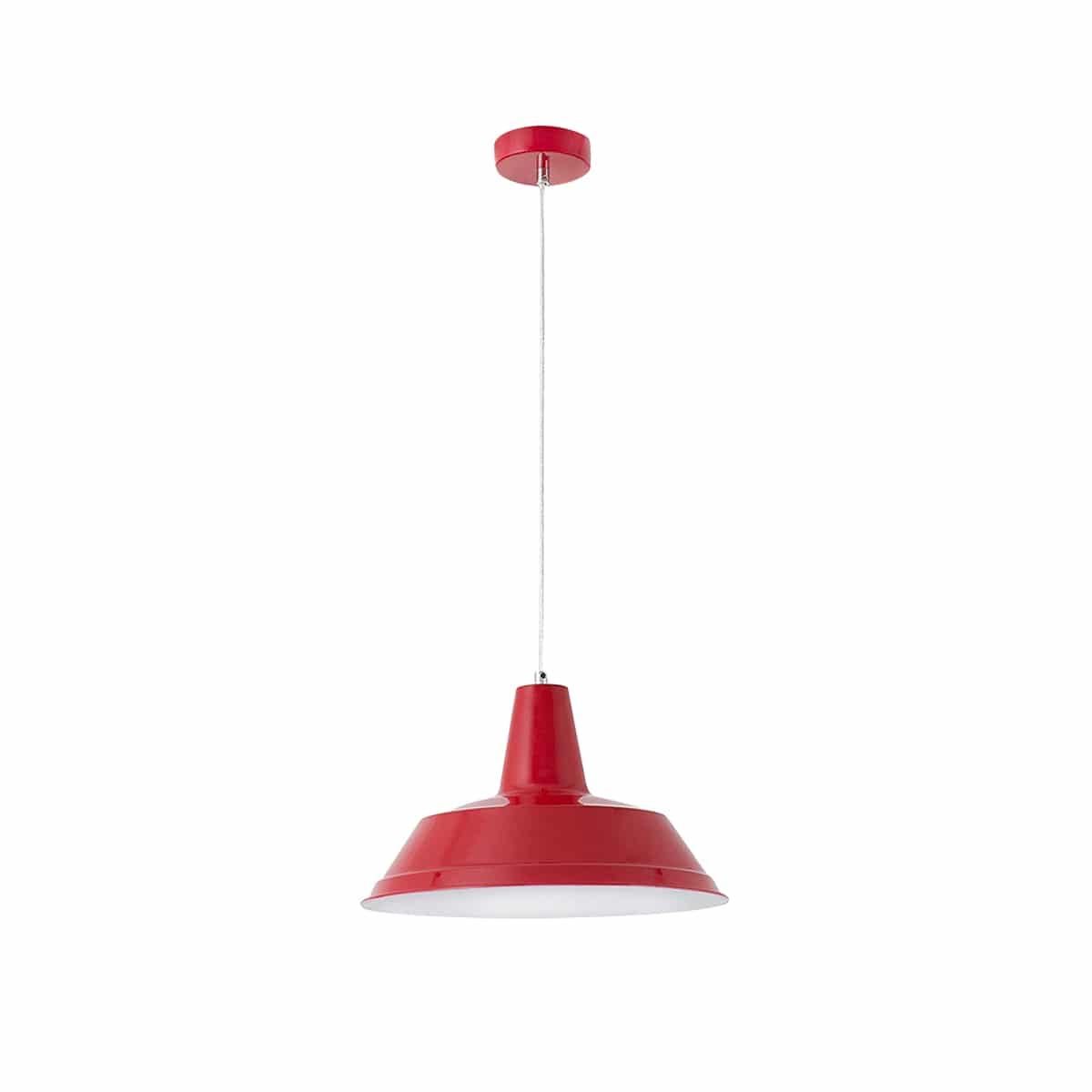 Suspension Alais rouge Faro Barcelona zeeloft