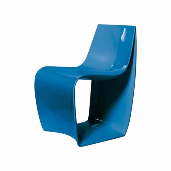 chaise sign bleu de skitsch zeeloft