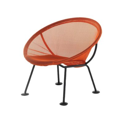 fauteuil take off orange skitsch zeeloft