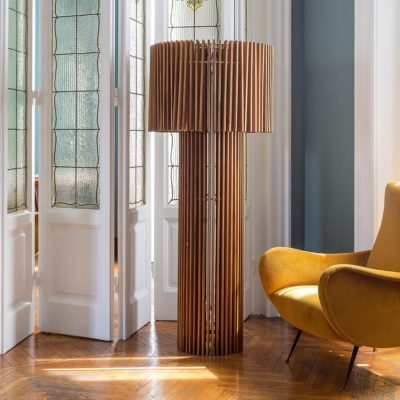 lampadaire wood marron skitsch zeeloft