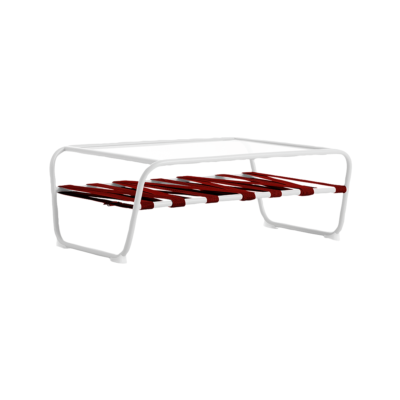 table basse dozequinze blanc rouge diabla zeeloft