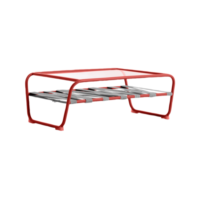 table basse dozequinze rouge blanc diabla zeeloft
