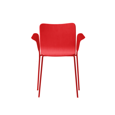 chaise miro rouge capdell zeeloft