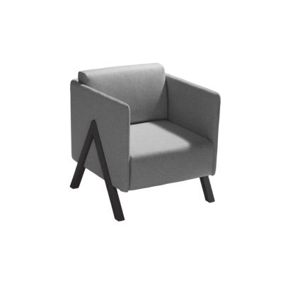 fauteuil vision gris capdell zeeloft