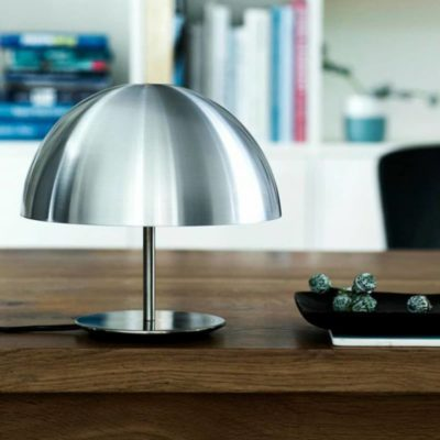lampe baby dome mater silver zeeloft