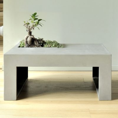 table basse green carree lyon beton zeeloft