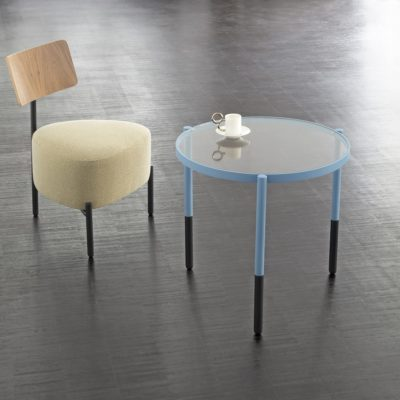 table basse optimiste bleu extranorm zeeloft