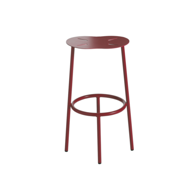 tabouret de bar cloud rouge capdell zeeloft