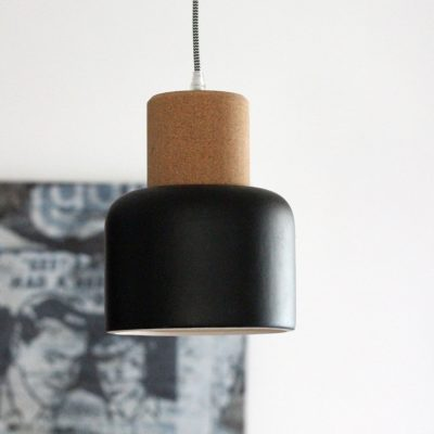 suspension cork round noir redcartel zeeloft