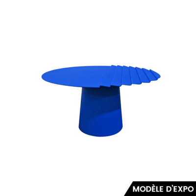 table basse wind 3 bleu matiere grise zeeloft