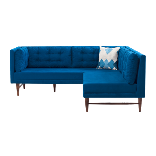 canape angle point mini bleu atelier del sofa zeeloft