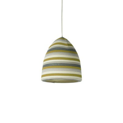 suspension flower stripe jaune inesartdesign zeeloft