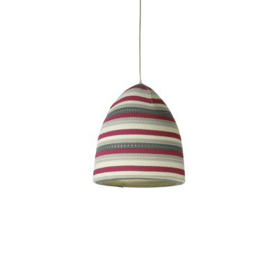 suspension flower stripe rouge inesartdesign zeeloft