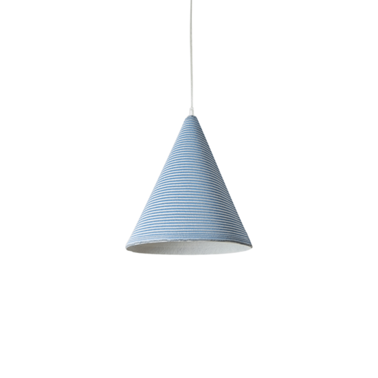 suspension jazz stripe bleu inesartdesign zeeloft