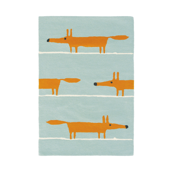 tapis mr fox aqua scion living zeeloft