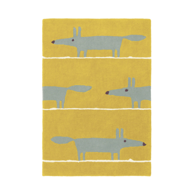 tapis mr fox mustard scion living zeeloft
