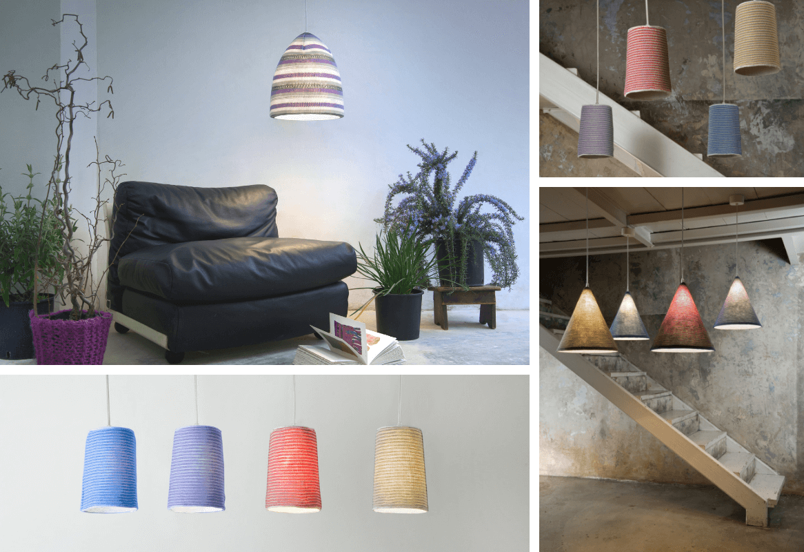 lampe stripe in-es art design tendance tricot zeeblog zeeloft