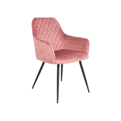chaise velours ellen rose house nordic zeeloft