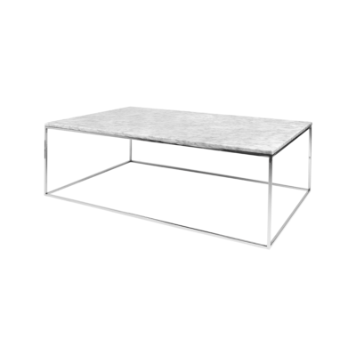 table basse gleam blanc gris l120 tema home zeeloft