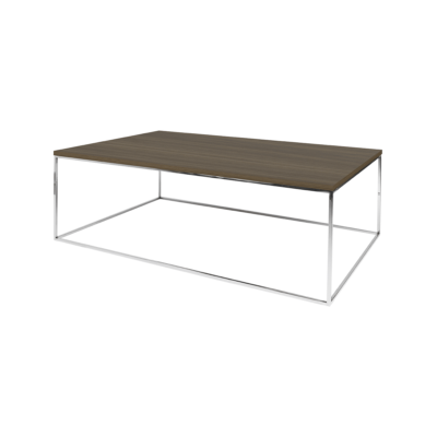 table basse gleam bois gris l120 tema home zeeloft