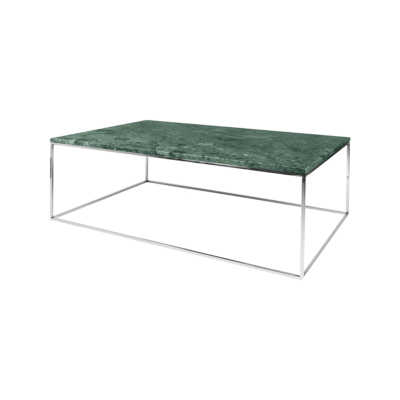 table basse gleam vert gris l120 tema home zeeloft