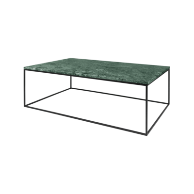 table basse gleam vert noir l120 tema home zeeloft