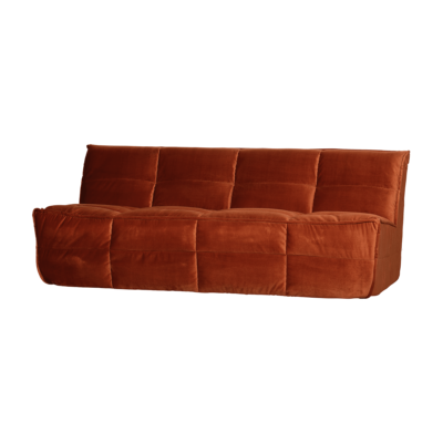 canape cluster orange rouille bepurehome zeeloft