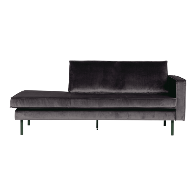 daybed rodeo droit gris anthracite bepurehome zeeloft