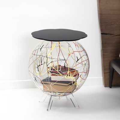 table de chevet boollino noir multicolore iplex zeeloft