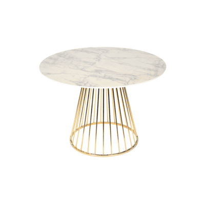 table romane marbree dore blanc opjet zeeloft