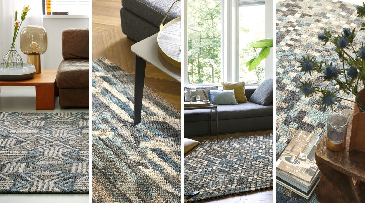 Tapis en laine brink and campman collection dart zeeblog zeeloft