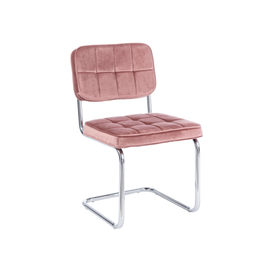 chaise iole rose bizzotto zeeloft