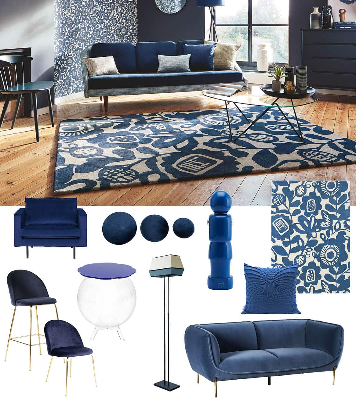 selection design classic blue pantone 2020 zeeblog zeeloft