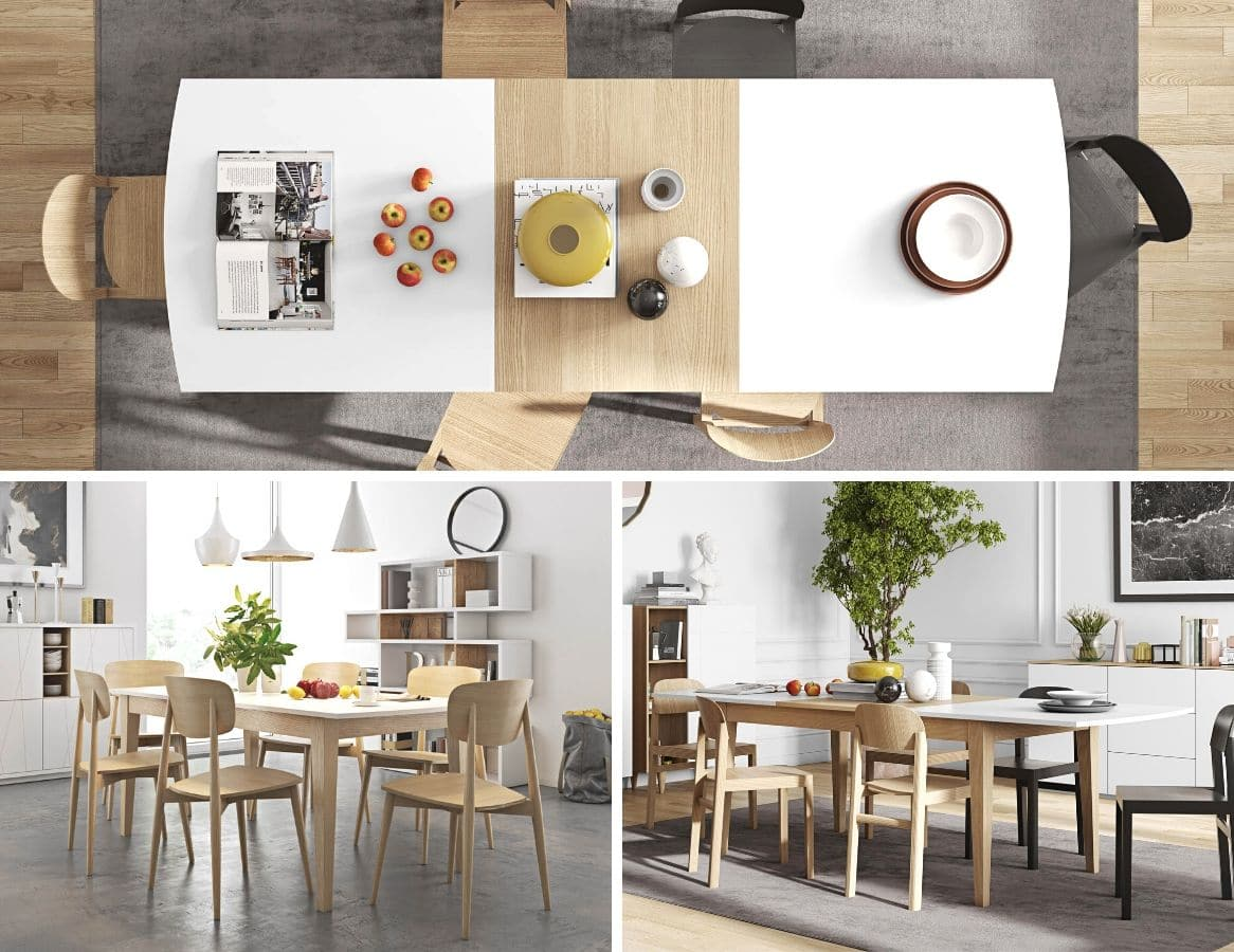 tables extensibles design panoramique grands zeeblog zeeloft