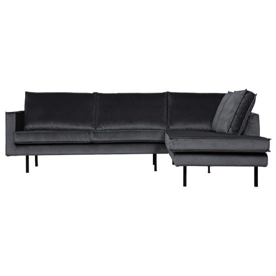 canape angle droit gris anthracite bepurehome zeeloft