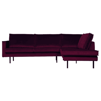 canape angle droit rouge bepurehome zeeloft