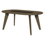 table lago noyer noir tema home zeeloft